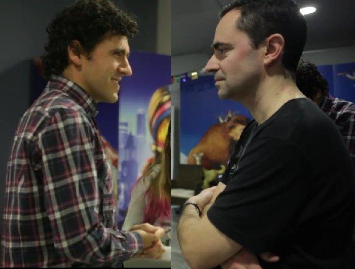 Pedro Segarra (i) y Jorge Bravo (d) forman SEBRA - sebra.es