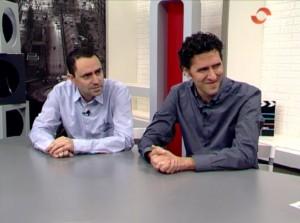 Pedro Segarra y Jorge Bravo en TVR - sebra.es